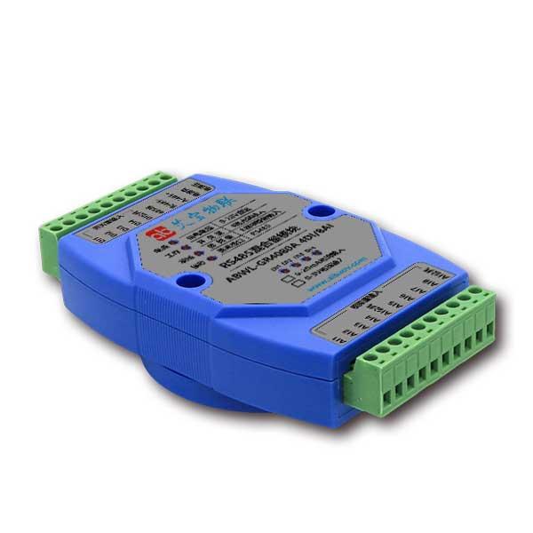 RS485开关量模拟量采集4DI8AI